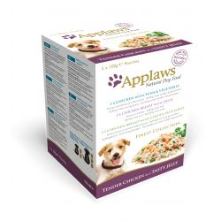 Applaws Dog Pouch Finest Mixed Pack 5 Pack, 100G