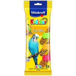 Vitakraft Kracker Budgie Trio-Mix, 3PK