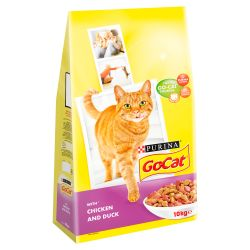 Go-Cat Chicken & Duck, 10KG