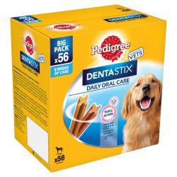 Pedigree Dentastix Daily Adult Dog Treats 56 Dental Chews