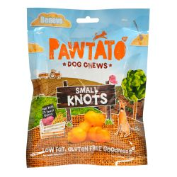 Benevo Pawtato Knots - Small, 150G