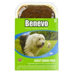 Benevo Vegan Grain Free Dog Food, 395G