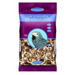 Johnston & Jeff Low Sunflower for African Greys, 2KG