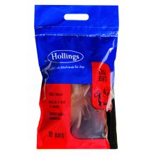 Hollings Cows Ears Carry Bag, 10PK