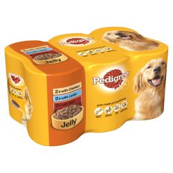 Pedigree Can In Jelly 6 Pack, 400G