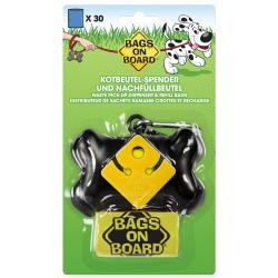 Bags On Board Bone Dispenser Black (+30 Bags)