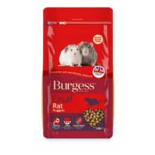 Burgess Excel Rat Nuggets, 1.5KG