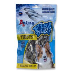 Antos Fish Dog Light Twist 100G