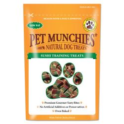 Pet Munchies 100% Natural Sushi Training Treat, 50G