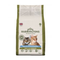 Harringtons Cat Duck & Rice, 2KG