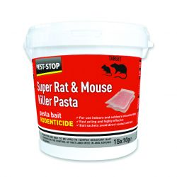 Pest Stop Rat & Mouse Kill Pasta, 15X10G