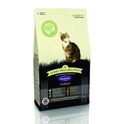 James Wellbeloved Cat Senior Turkey & Rice, 1.5KG