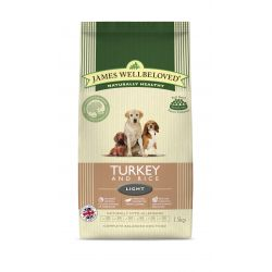 James Wellbeloved Dog Adult Light Turkey & Rice