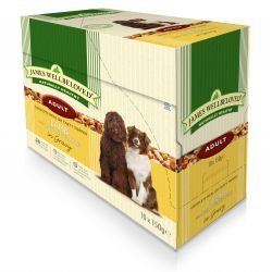 James Wellbeloved Dog Adult Lamb & Rice 10 Pack, 150G