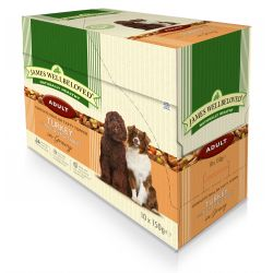 James Wellbeloved Dog Adult Turkey & Rice 10 Pack, 150G