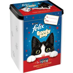 Felix Christmas Goody Tin, 300G