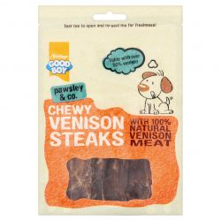 Good Boy Chewy Venison Steak, 80G