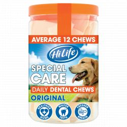 HiLife Daily Dental Chews Original Tub, 12'S