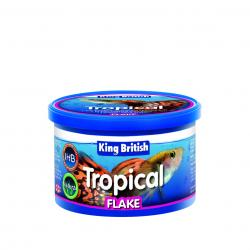 King British Tropical Fish Flake Food