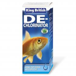 King British De-Chlorinator (formerly Safe Guard), 100ML