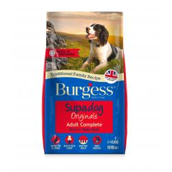 Burgess Supadog Adult Dog Beef, 15KG