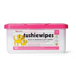 Petkin Tushie Wipes, 100PCS