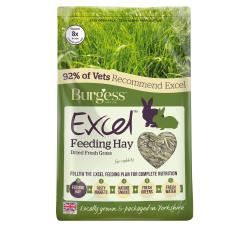Burgess Feeding Hay Dried Grass, 1KG