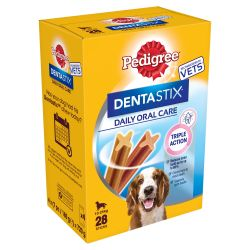 Pedigree Dentastix Daily Adult Dental Treat 28 Dental Chews