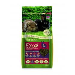 Burgess Excel Mature Rabbit Nuggets with Cranberry & Ginseng, 2KG