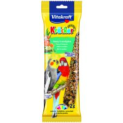 Vitakraft Australian Cockatiel Stick Honey 180g, 2PK