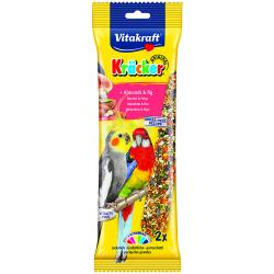 Vitakraft Australian Cockatiel Fruit Stick 180g, 2PK