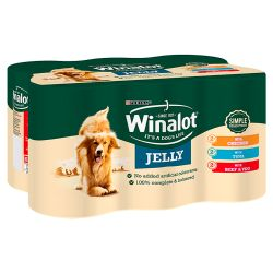 Winalot Mixed Variety Classics Favourites in Jelly 6 Pack, 400G