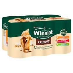 Winalot Mixed Variety Casserole Selections in Gravy 6 Pack, 400G
