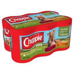 CHAPPIE Dog Cans Favourites 6x412g.