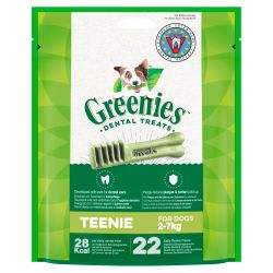 Greenies Dental Dog Treat Original Teenie 170g