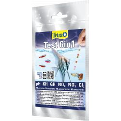 Tetra Test Strips 6in1 x10 strips