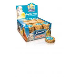 Johnson's Budgie Fruit & Honey Bell, 34G