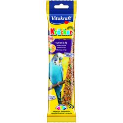 Vitakraft Budgie Stick Fruit 60g, 2PK