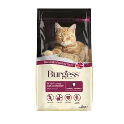 Burgess Mature Cat Turkey & Cranberry, 1.4KG