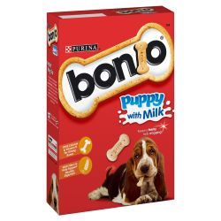 Bonio Puppy Milk Biscuits, 350G