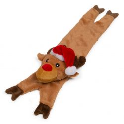 Stuffed Head Squeaky Reindeer