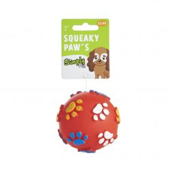 Squeaky Paw Dog Toy