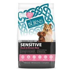 Burns Sensitive Duck and Brown Rice, 6KG