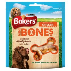 Bakers Mini Bones Chicken, 94G