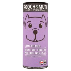 Pooch & Mutt Calm & Relaxed Mini Bone Treat, 125G
