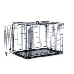 Safe 'N' Sound Dog Crate 2 Door, MED
