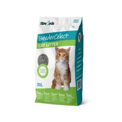 Breeder Celect Paper Pellet Cat Litter 30 Litre