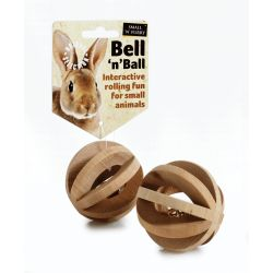 Small 'N' Furry Bell 'N' Ball, 6CM