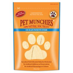 Pet Munchies Ocean White Fish for Dogs, 100G