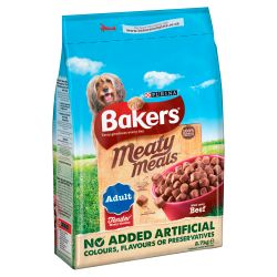 Bakers Meaty Meals Beef, 2.7KG